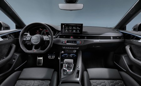 2020 Audi RS 5 Coupe Interior Cockpit Wallpapers 450x275 (21)