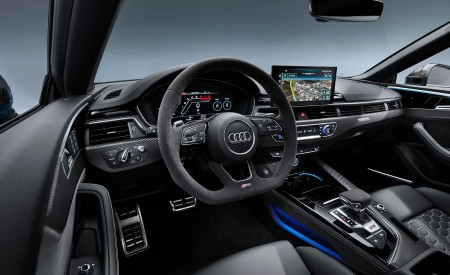 2020 Audi RS 5 Coupe Interior Wallpapers 450x275 (22)