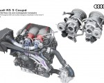 2020 Audi RS 5 Coupe V6 TFSI engine with two turbo chargers mounted in the inner V Wallpapers 150x120 (23)