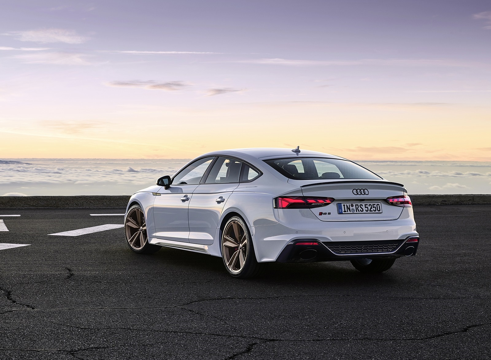 2020 Audi Rs 5 Sportback Color Glacier White Rear Three Quarter Wallpapers 50 Newcarcars