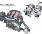 2020 Audi RS 5 Sportback V6 TFSI engine with two chargers mounted in the inner V Wallpapers 150x120 (23)