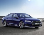 2020 Audi S8 (Color: Navarra Blue) Front Three-Quarter Wallpapers 150x120 (50)