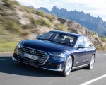 2020 Audi S8 (Color: Navarra Blue) Front Three-Quarter Wallpapers 150x120 (13)