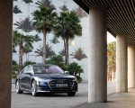 2020 Audi S8 (Color: Navarra Blue) Front Three-Quarter Wallpapers 150x120 (38)