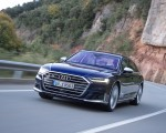 2020 Audi S8 (Color: Navarra Blue) Front Three-Quarter Wallpapers 150x120 (3)
