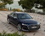 2020 Audi S8 (Color: Navarra Blue) Front Three-Quarter Wallpapers 150x120 (44)
