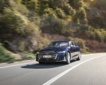 2020 Audi S8 (Color: Navarra Blue) Front Three-Quarter Wallpapers 150x120 (28)