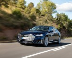 2020 Audi S8 (Color: Navarra Blue) Front Three-Quarter Wallpapers 150x120 (30)