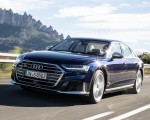 2020 Audi S8 (Color: Navarra Blue) Front Three-Quarter Wallpapers 150x120 (5)