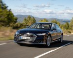 2020 Audi S8 (Color: Navarra Blue) Front Three-Quarter Wallpapers 150x120 (29)