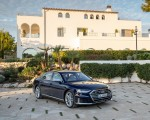 2020 Audi S8 (Color: Navarra Blue) Front Three-Quarter Wallpapers 150x120 (45)