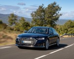 2020 Audi S8 (Color: Navarra Blue) Front Three-Quarter Wallpapers 150x120 (15)