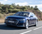 2020 Audi S8 (Color: Navarra Blue) Front Three-Quarter Wallpapers 150x120 (7)