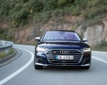 2020 Audi S8 (Color: Navarra Blue) Front Wallpapers 150x120 (8)