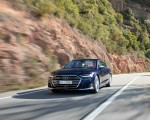 2020 Audi S8 (Color: Navarra Blue) Front Wallpapers 150x120 (31)
