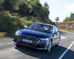 2020 Audi S8 (Color: Navarra Blue) Front Wallpapers 150x120 (17)