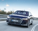 2020 Audi S8 (Color: Navarra Blue) Front Wallpapers 150x120 (4)