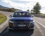 2020 Audi S8 (Color: Navarra Blue) Front Wallpapers 150x120 (18)