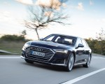 2020 Audi S8 (Color: Navarra Blue) Front Wallpapers 150x120 (9)