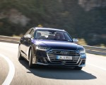 2020 Audi S8 (Color: Navarra Blue) Front Wallpapers 150x120 (36)