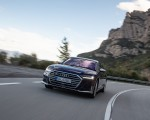 2020 Audi S8 (Color: Navarra Blue) Front Wallpapers 150x120 (6)