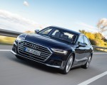 2020 Audi S8 (Color: Navarra Blue) Front Wallpapers 150x120 (10)