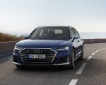 2020 Audi S8 (Color: Navarra Blue) Front Wallpapers 150x120 (11)