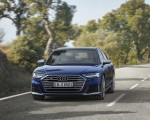 2020 Audi S8 (Color: Navarra Blue) Front Wallpapers 150x120 (20)