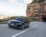 2020 Audi S8 (Color: Navarra Blue) Front Wallpapers 150x120 (12)