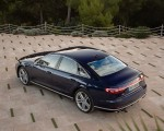 2020 Audi S8 (Color: Navarra Blue) Rear Three-Quarter Wallpapers 150x120 (39)