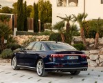 2020 Audi S8 (Color: Navarra Blue) Rear Three-Quarter Wallpapers 150x120 (46)