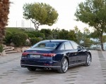 2020 Audi S8 (Color: Navarra Blue) Rear Three-Quarter Wallpapers 150x120 (47)