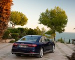 2020 Audi S8 (Color: Navarra Blue) Rear Wallpapers 150x120 (48)