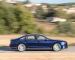 2020 Audi S8 (Color: Navarra Blue) Side Wallpapers 150x120 (26)