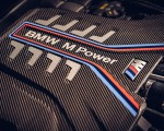 2020 BMW M8 Competition Convertible (UK-Spec) Engine Wallpapers 150x120 (25)