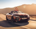 2020 BMW M8 Competition Convertible (UK-Spec) Front Three-Quarter Wallpapers 150x120
