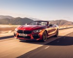 2020 BMW M8 Competition Convertible (UK-Spec) Front Three-Quarter Wallpapers 150x120 (3)