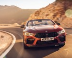 2020 BMW M8 Competition Convertible (UK-Spec) Front Wallpapers 150x120