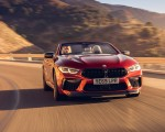 2020 BMW M8 Competition Convertible (UK-Spec) Front Wallpapers 150x120 (1)