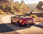 2020 BMW M8 Competition Convertible (UK-Spec) Rear Three-Quarter Wallpapers 150x120