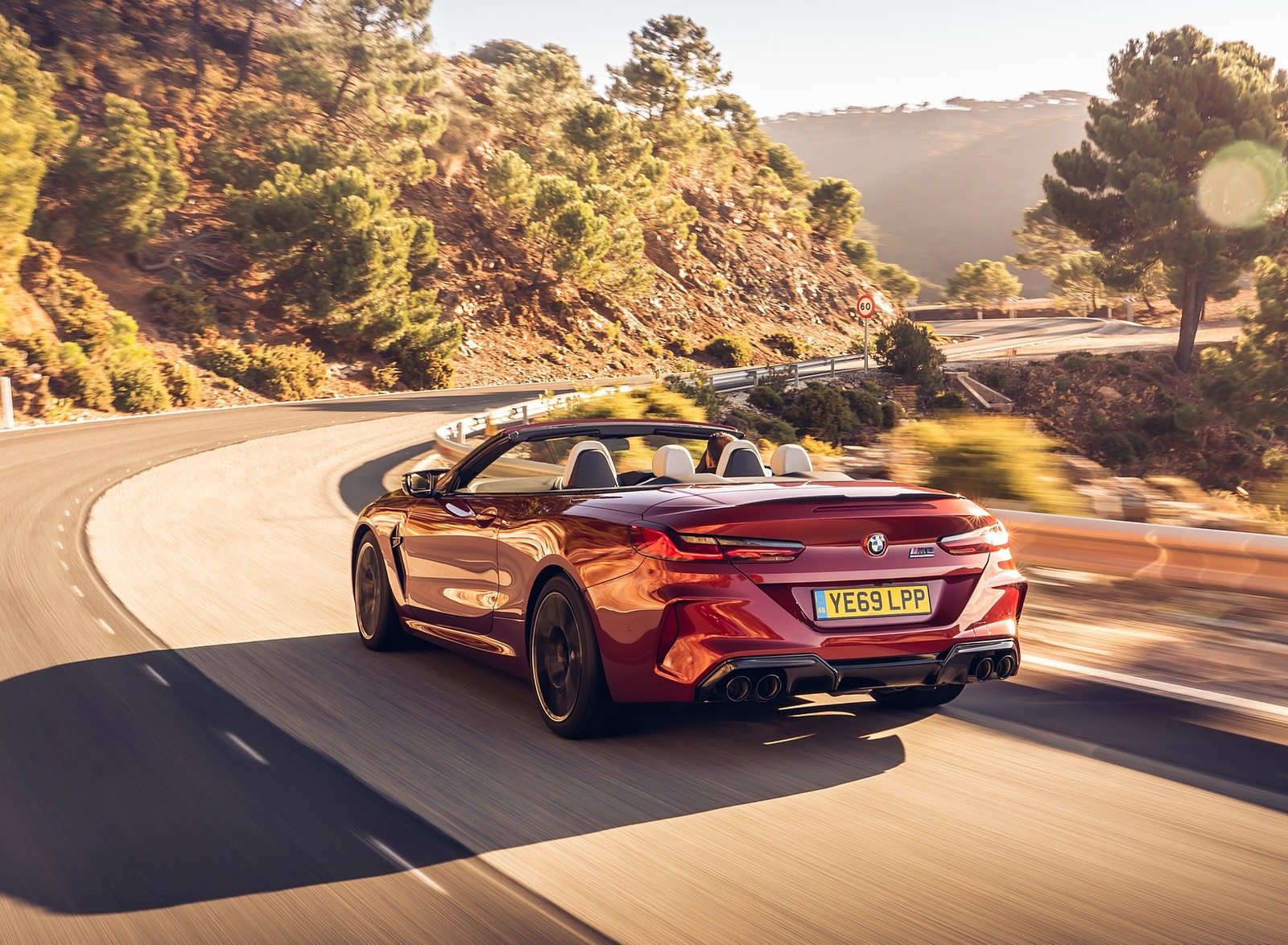 2020 BMW M8 Competition Convertible (UK-Spec) Rear Three-Quarter Wallpapers (10)