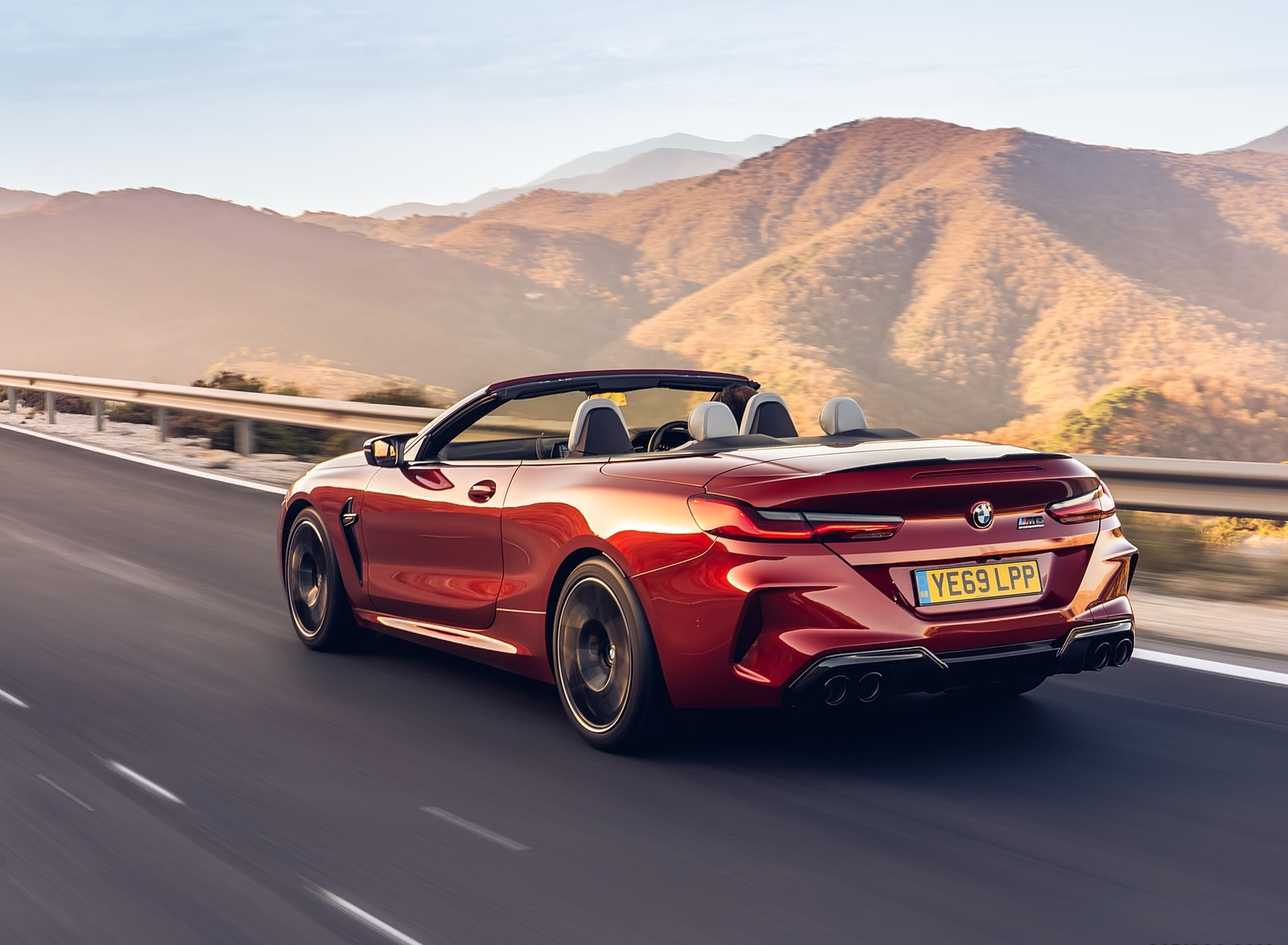 2020 BMW M8 Competition Convertible (UK-Spec) Rear Three-Quarter Wallpapers (7)