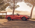 2020 BMW M8 Competition Convertible (UK-Spec) Side Wallpapers 150x120