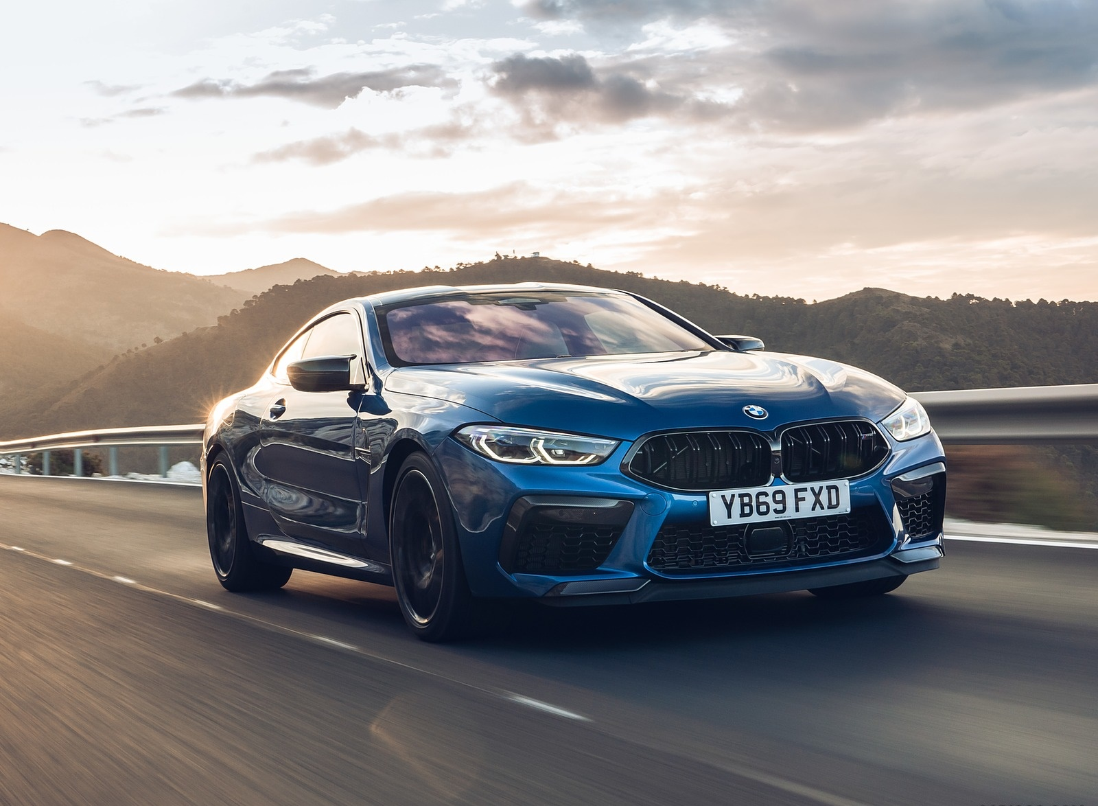 2020 BMW M8 Competition Coupe (UK-Spec) Front Three-Quarter Wallpapers (5)