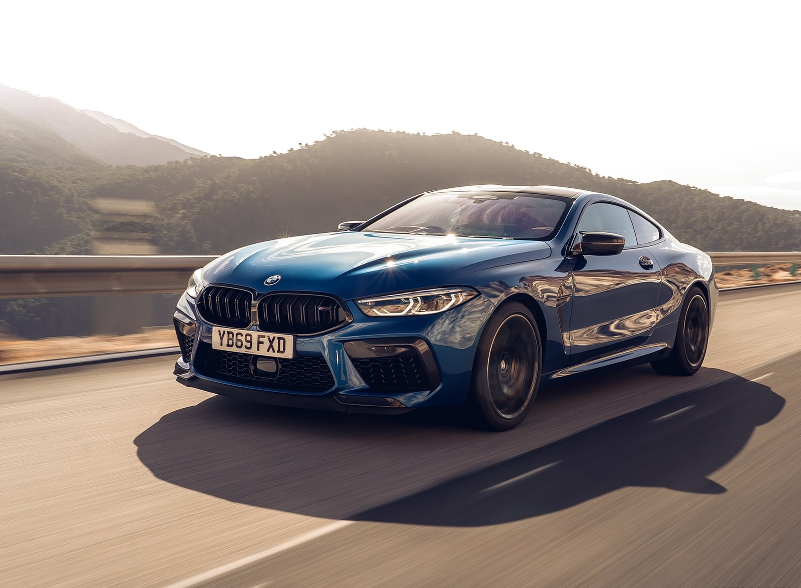 2020 BMW M8 Competition Coupe (UK-Spec) Front Three-Quarter Wallpapers (6)