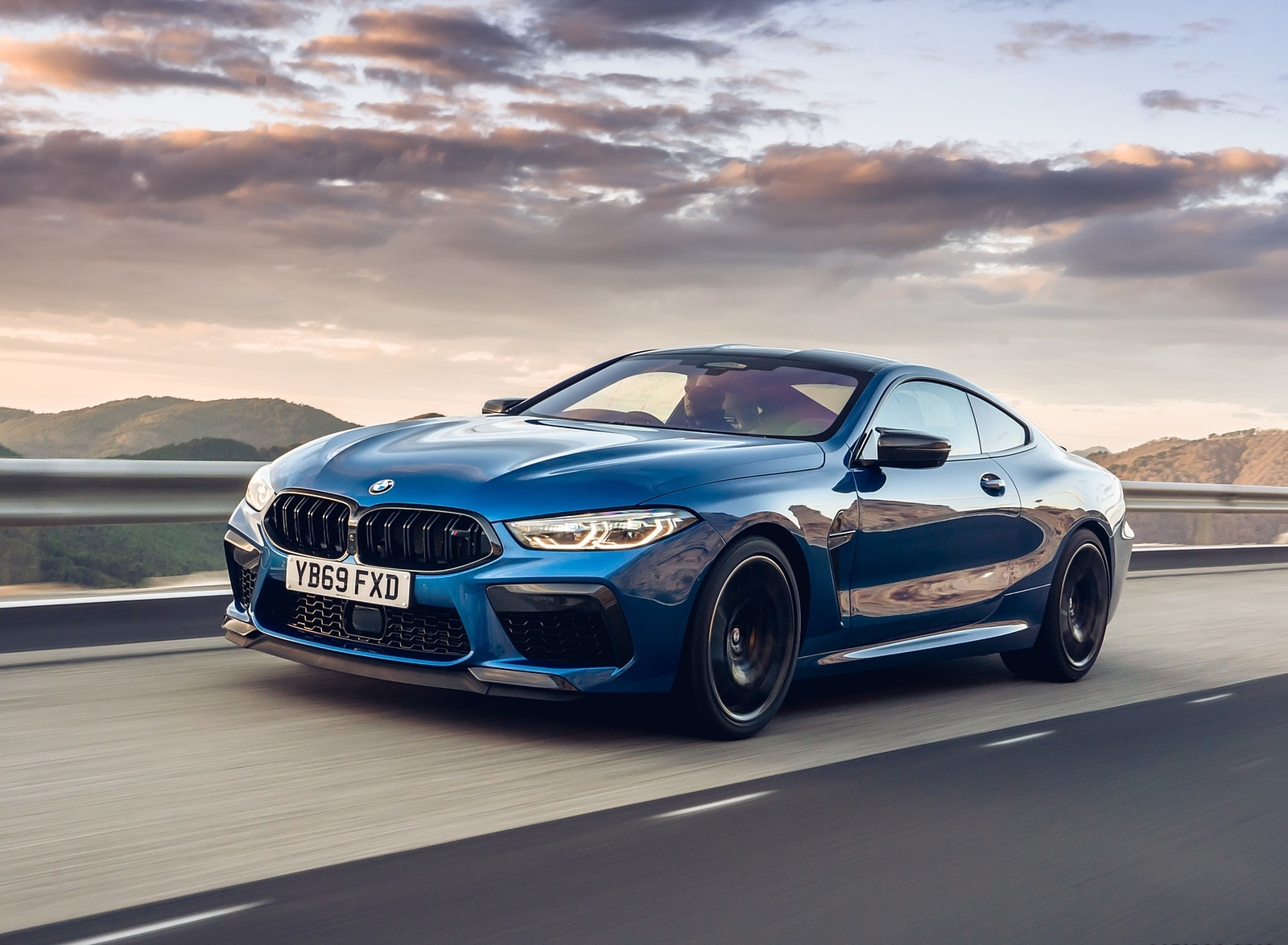 2020 BMW M8 Competition Coupe (UK-Spec) Front Three-Quarter Wallpapers (8)