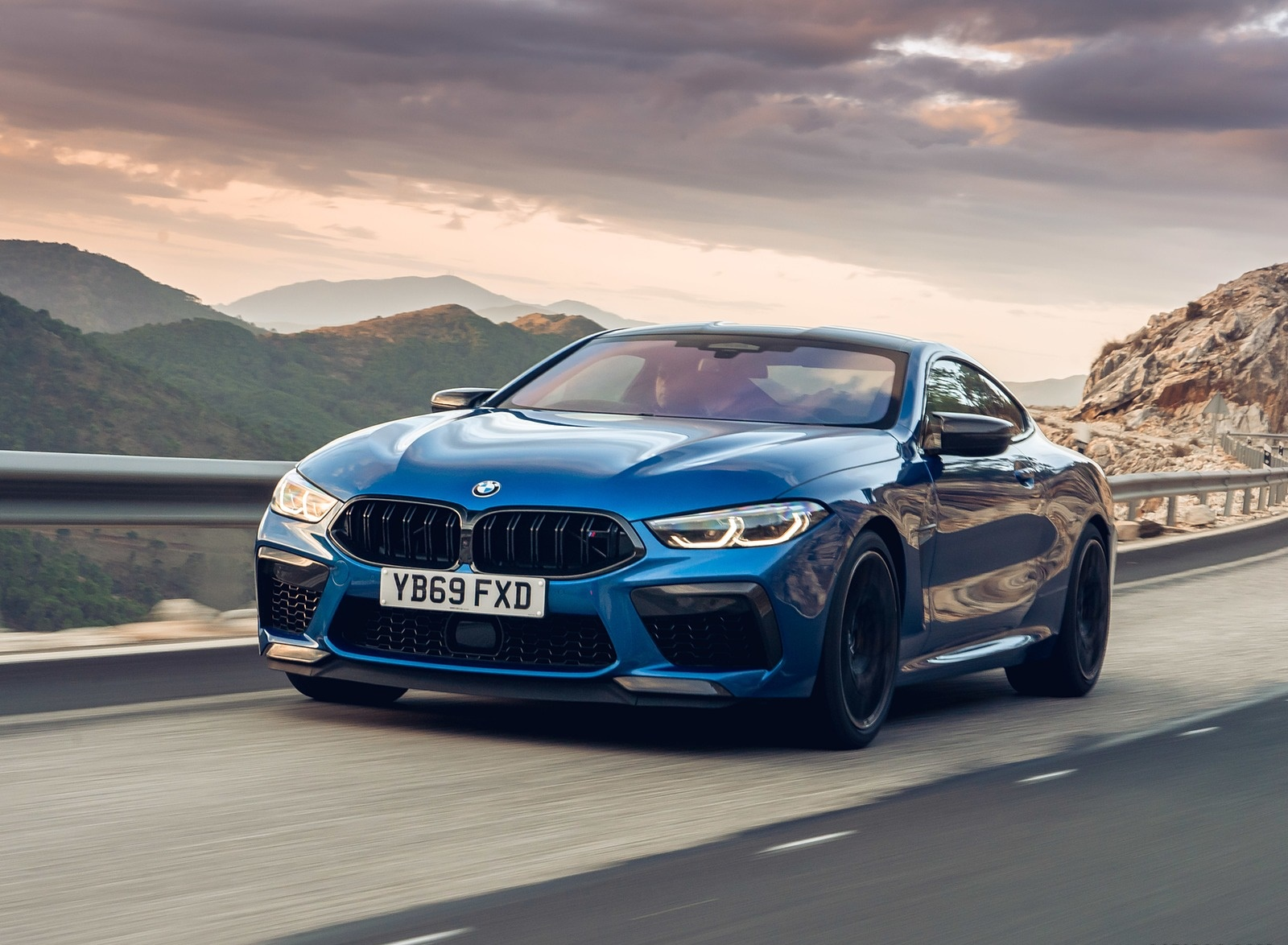 2020 BMW M8 Competition Coupe (UK-Spec) Front Three-Quarter Wallpapers (9)