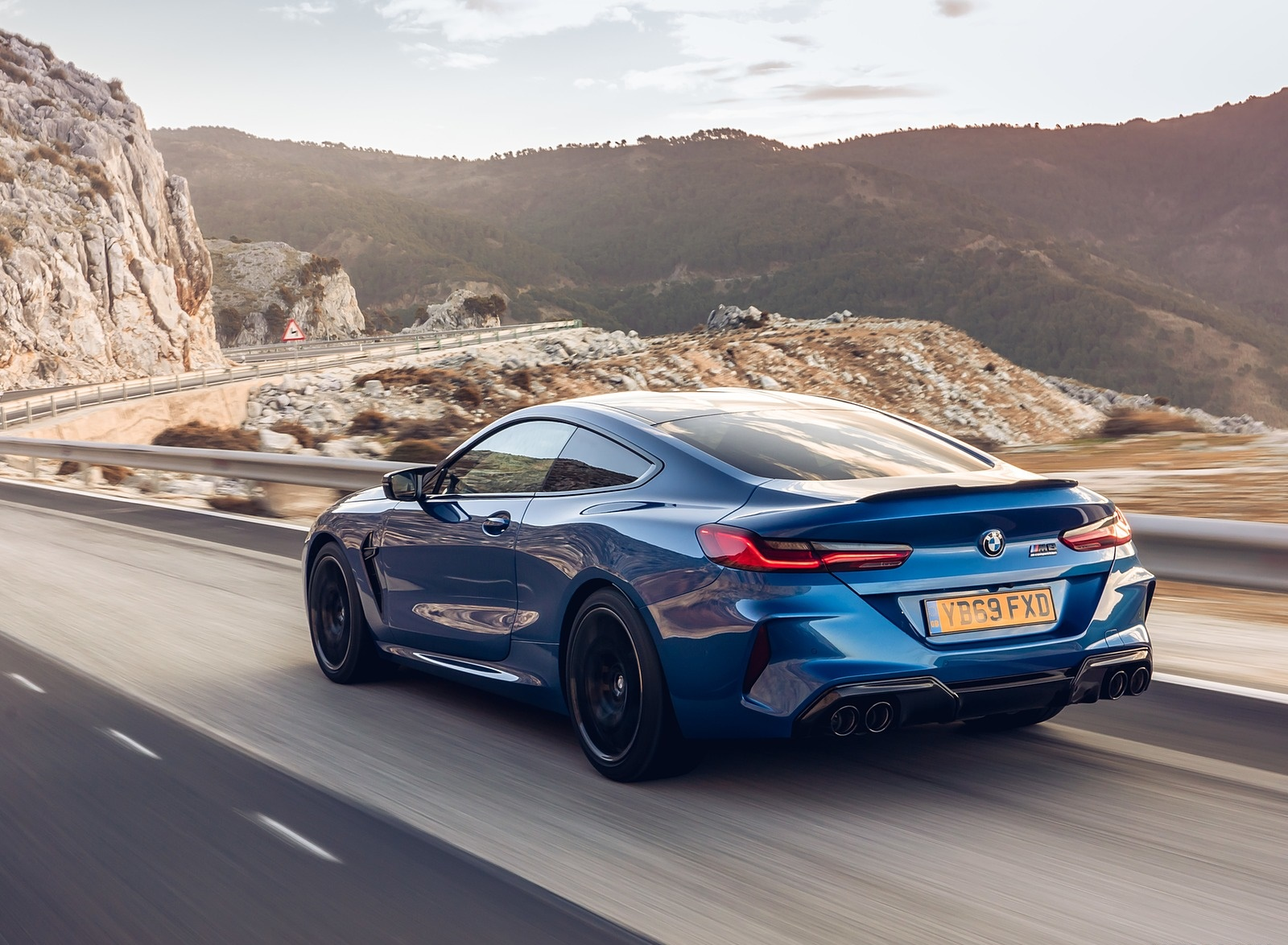 2020 BMW M8 Competition Coupe (UK-Spec) Rear Three-Quarter Wallpapers (10)