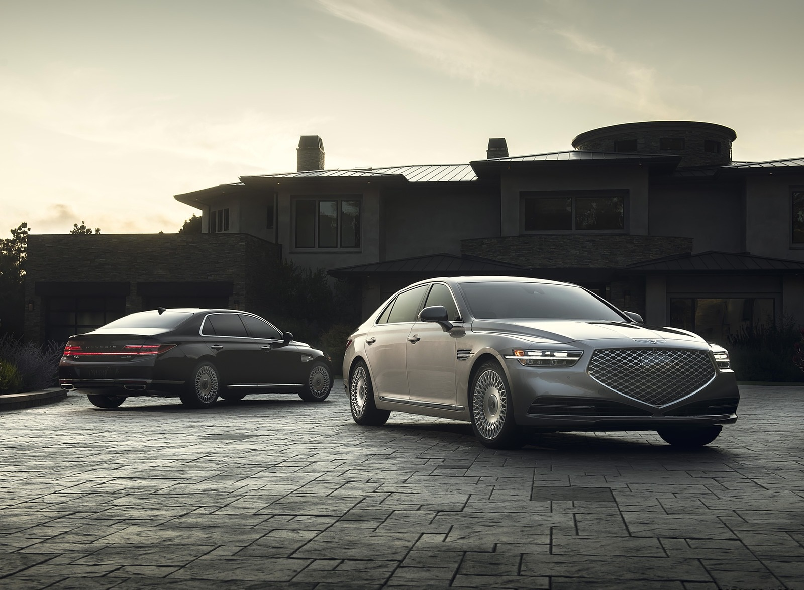 2020 Genesis G90 Front Three-Quarter Wallpapers (6)