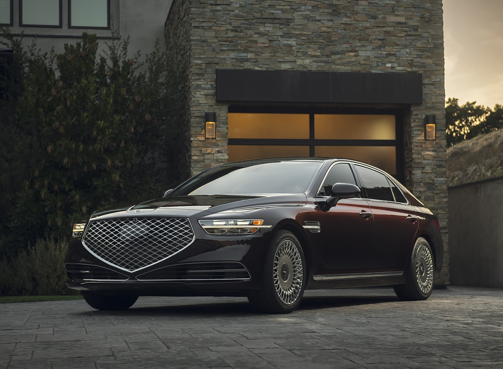 2020 Genesis G90 Front Three-Quarter Wallpapers (8)